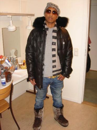 pharrell williams fashion. point Pharrell Williams to
