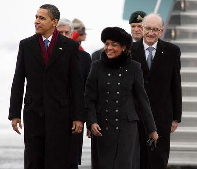 Obama michaelle jean 2