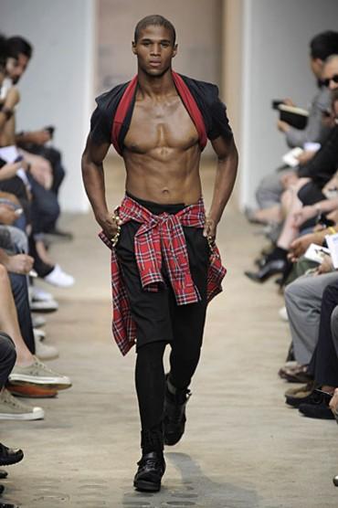 Gay black abs