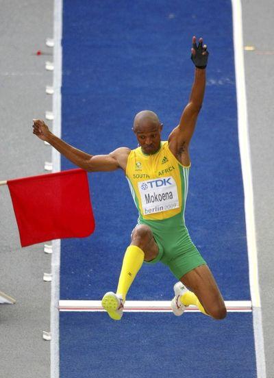 Godfrey Khotso Mokoena silver long jump