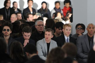Calvin klein show Jared Leto, Chace Crawford, Ryan Phillipe, Kellan Lutz and Mehcad Brooks