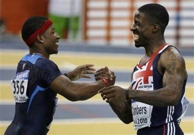 Dwain Chambers mike rodgers 2