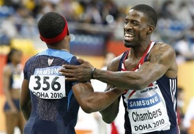 Dwain Chambers mike rodgers 4