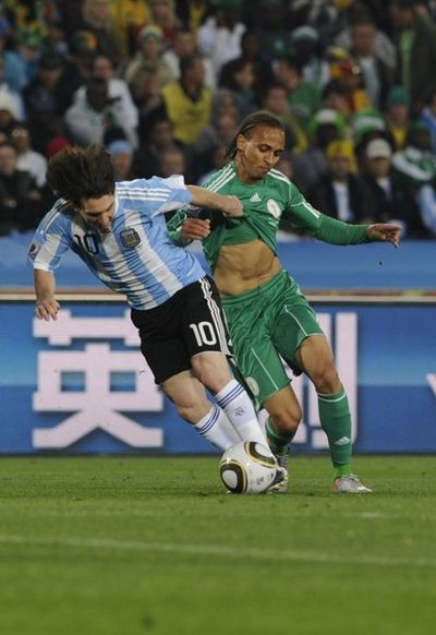 World Cup Odemwingie Lionel Messi