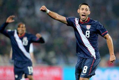 World cup clint dempsey ricardo clark
