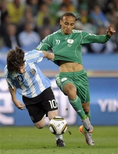 World Cup Odemwingie Lionel Messi 2