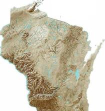 Locator map wisconsin 210