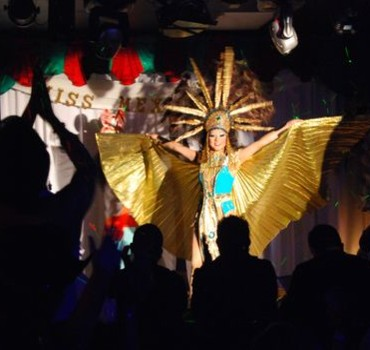 ... drag shows and attracts a largely Latino gay and transgender clientele.