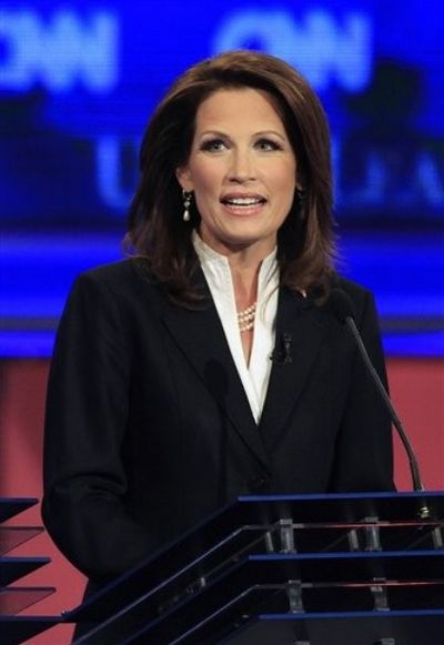 Right wing Minnesota Rep. Michele Bachmann made her official presidential ...