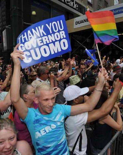 Thank you Cuomo Getty