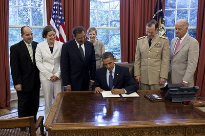 DADT Repeal Certification Signing