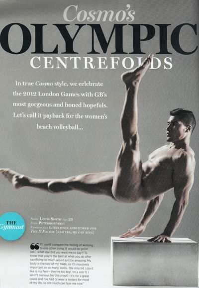 2012_06_04_Cosmo Olympic Centrefold Louis Smith