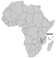 Malawi Map 185