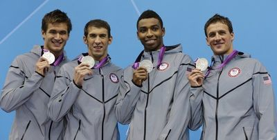 Olympics Medal Cullen Phelps Lochte Adrian