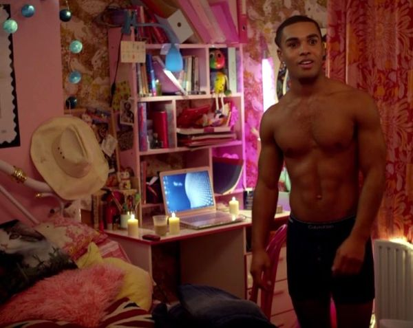 Lucien Love - Lucien Laviscount Strips Naked for the GT