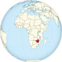 Zimbabwe Africa Map 200