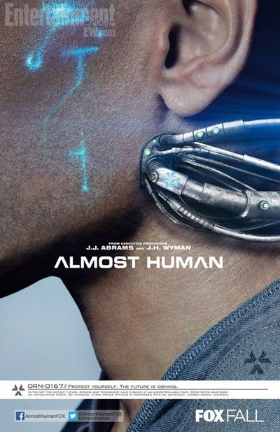 2013_10_26_Michael Ealy Almost Human Poster