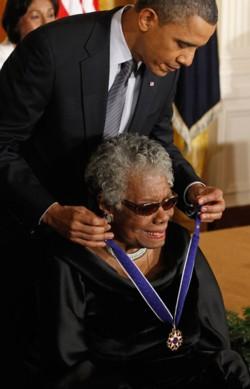 2014_05_28 Maya Angelou Obama